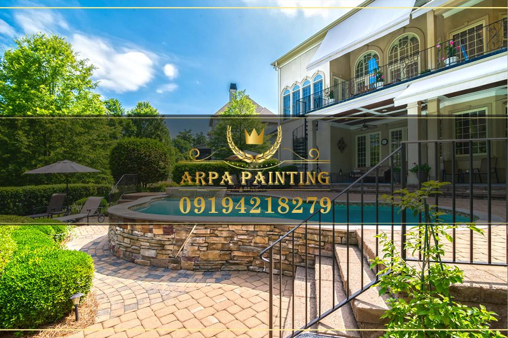 رنگ کنیتکس نقاشی ساختمان آرپا